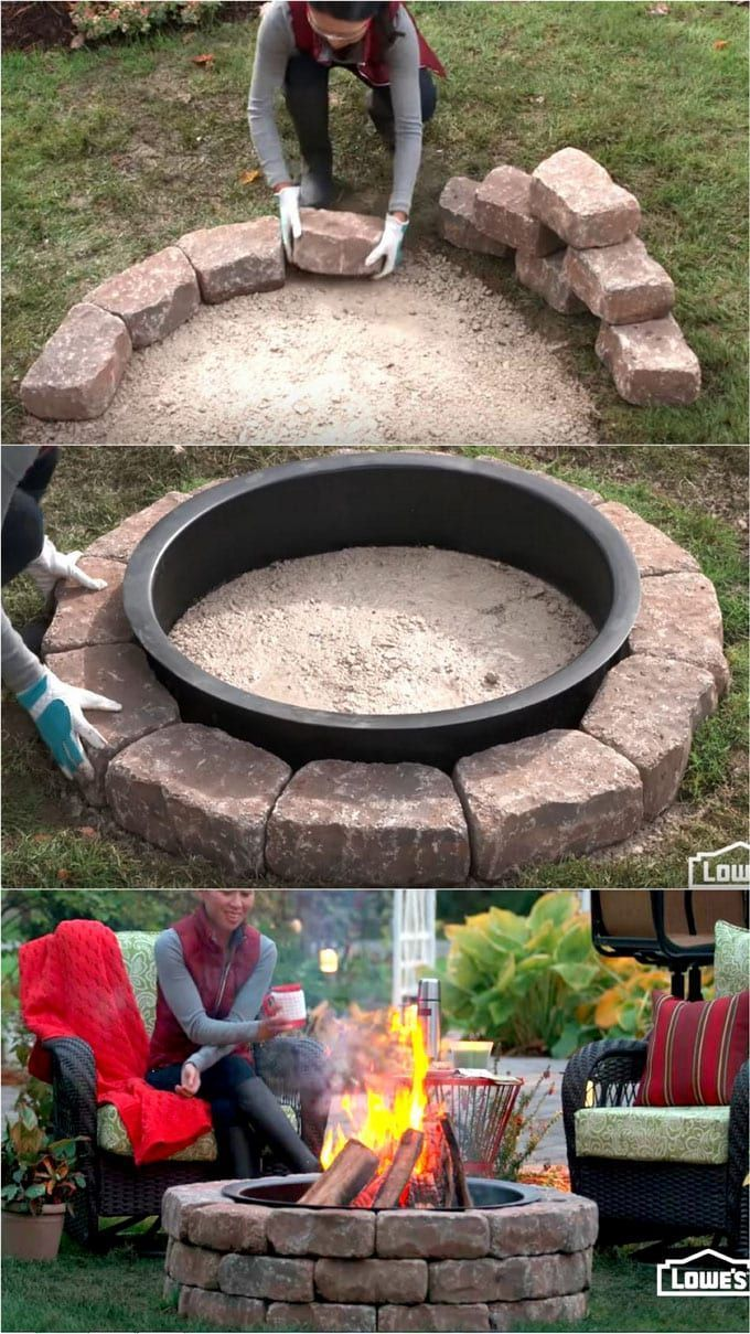 24 Best Outdoor Fire Pit Ideas to DIY or Buy