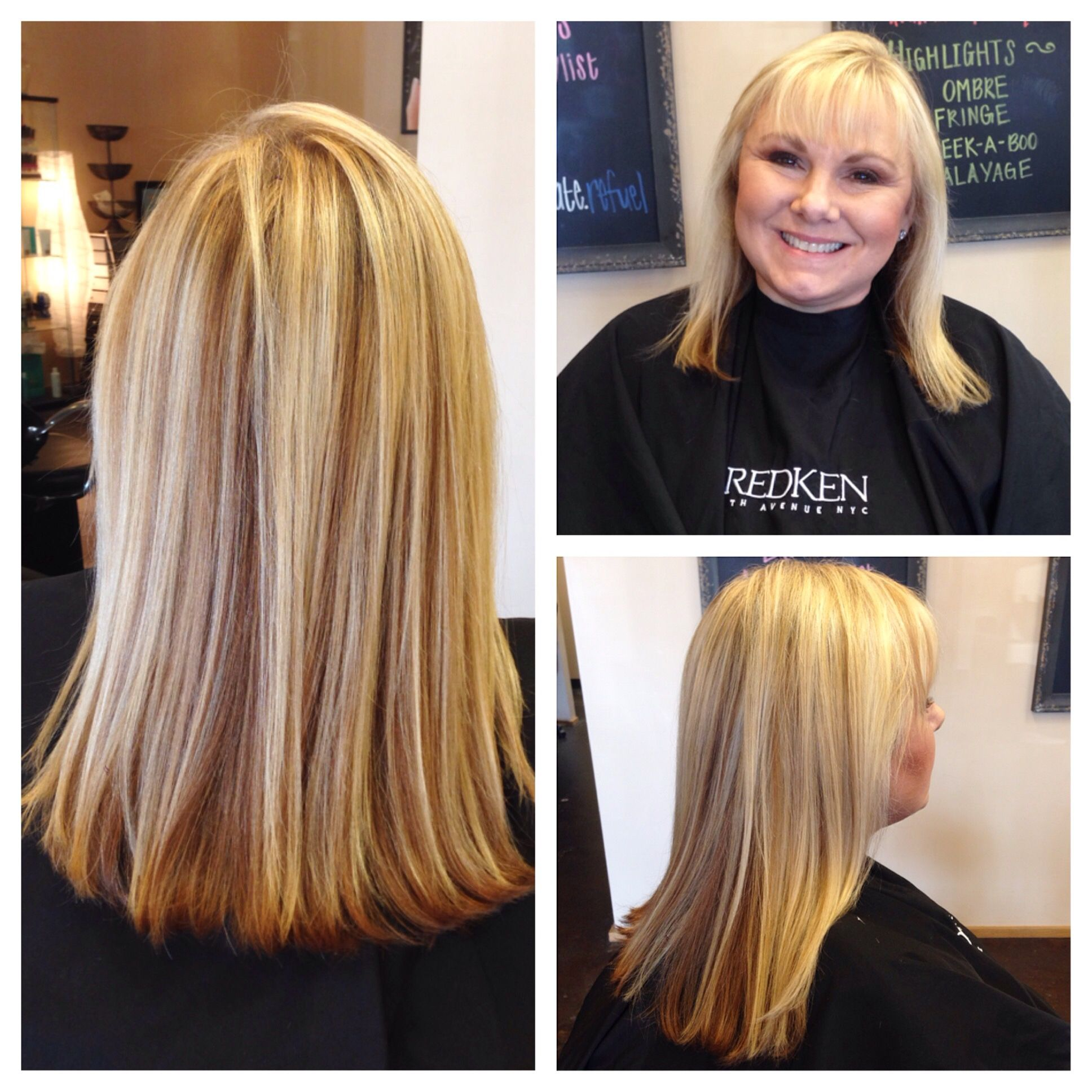 Highlights Lowlights By Carla At Fuel Salon Tallahassee Long Hair Styles Highlights And Lowlights Hair Styles