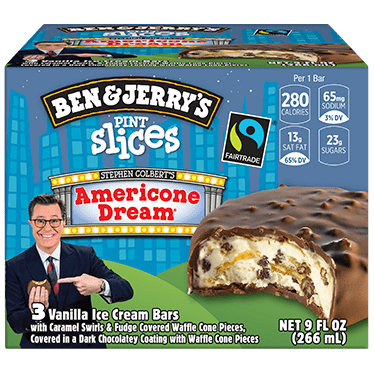 Americone Dream Ice Cream Flavor / Apparently, his proceeds are going to charity, so that's a good deal.