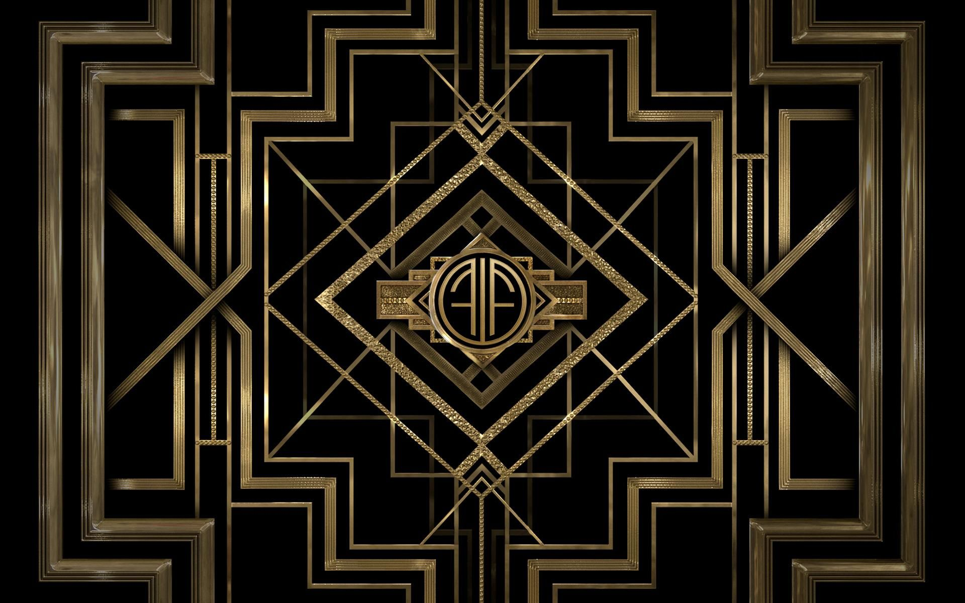 Customize Your Own The Great Gatsby Wallpaper At Appswarnerbros Greatgatsby Monogramcreator Us
