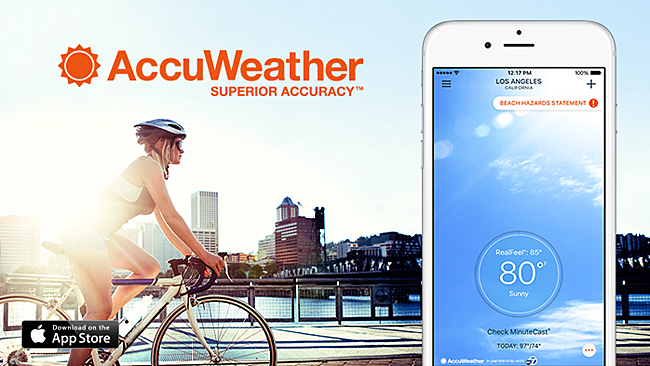 Top reasons to download AccuWeather app Smartphone apps