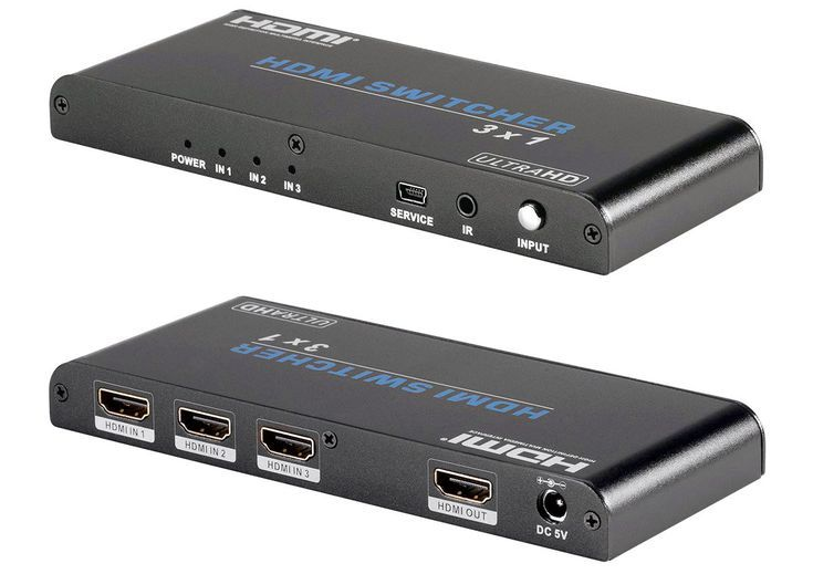 HDMI Switchers Can Expand Your Home Theater Connections | Blackbird ...