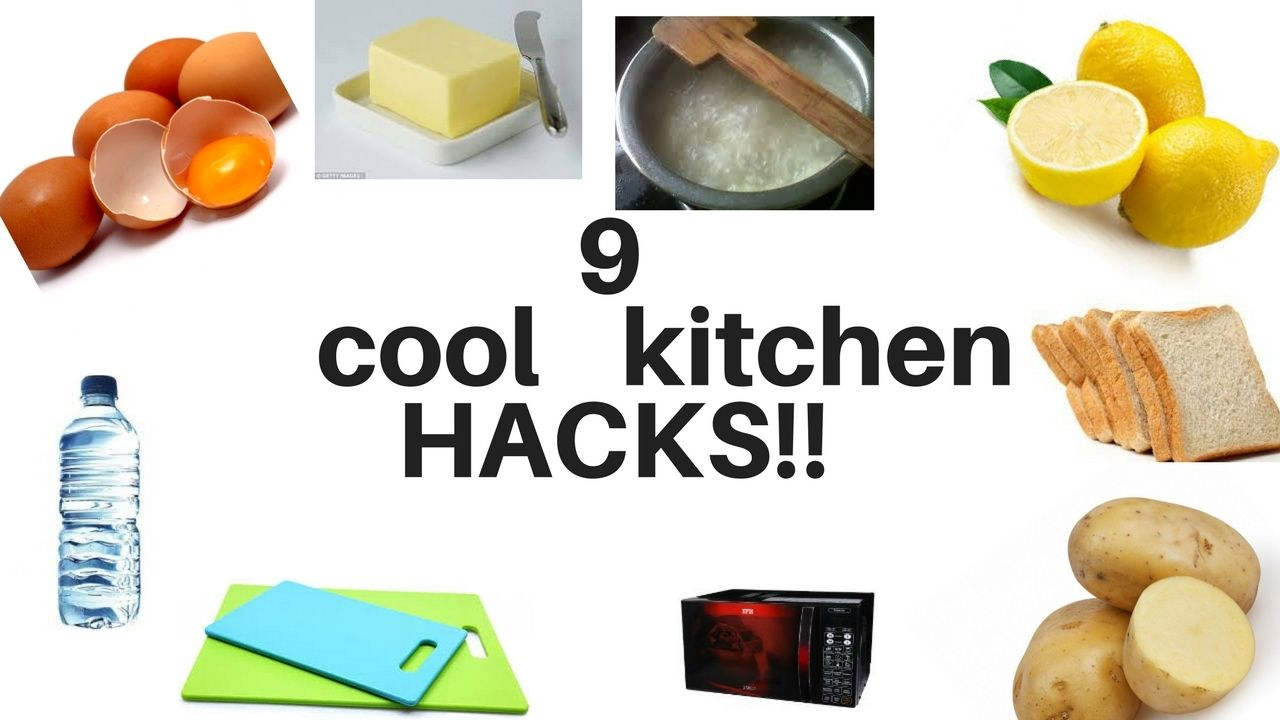 9  COOL KITCHEN HACKS !! I can guarantee all will be so HELPFUL for all ...