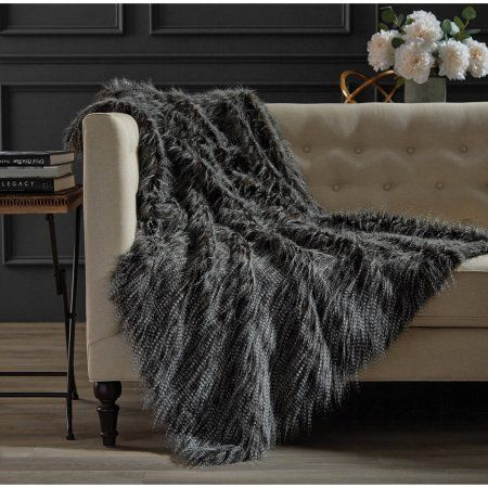 Walmart Throw Blankets Free Shipping On Orders Over $35Buy Hotel Soft Faux Fur Throw At