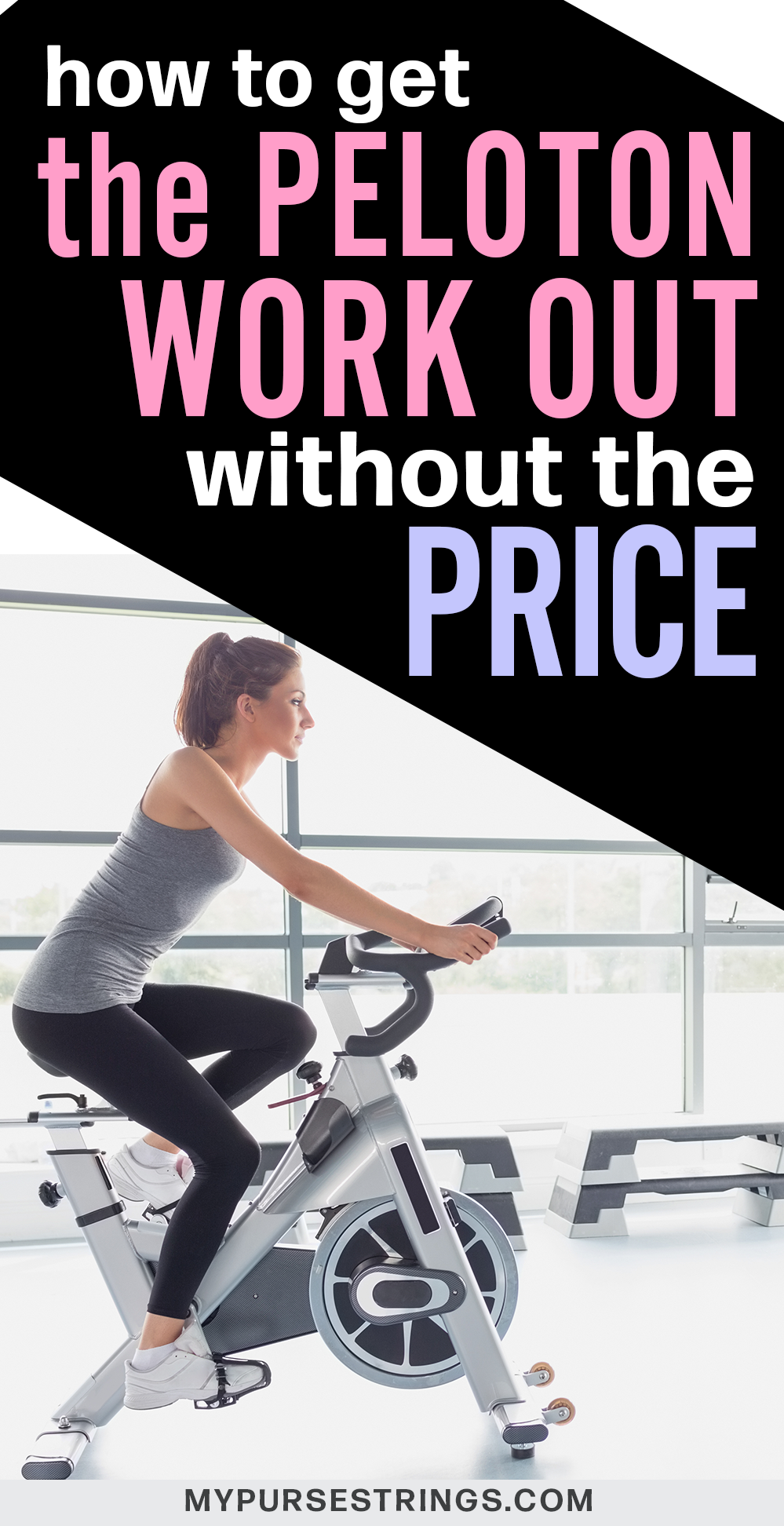 How To Get The Peloton Cycle Experience Without The Price Tag Biking Workout Stationary Bike Workout Workout For Beginners