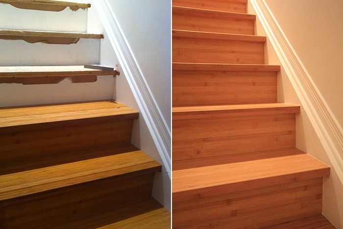 Best Custom Bamboo Staircase Residential Renovations 400 x 300