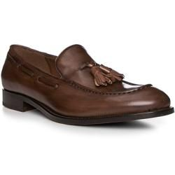 Photo of Fratelli Rossetti Loafers Men, smooth leather, brown Fratelli Rossetti