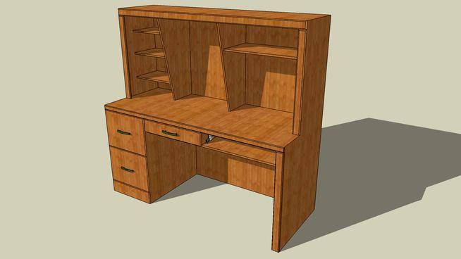 Computer Desk - 3D Warehouse