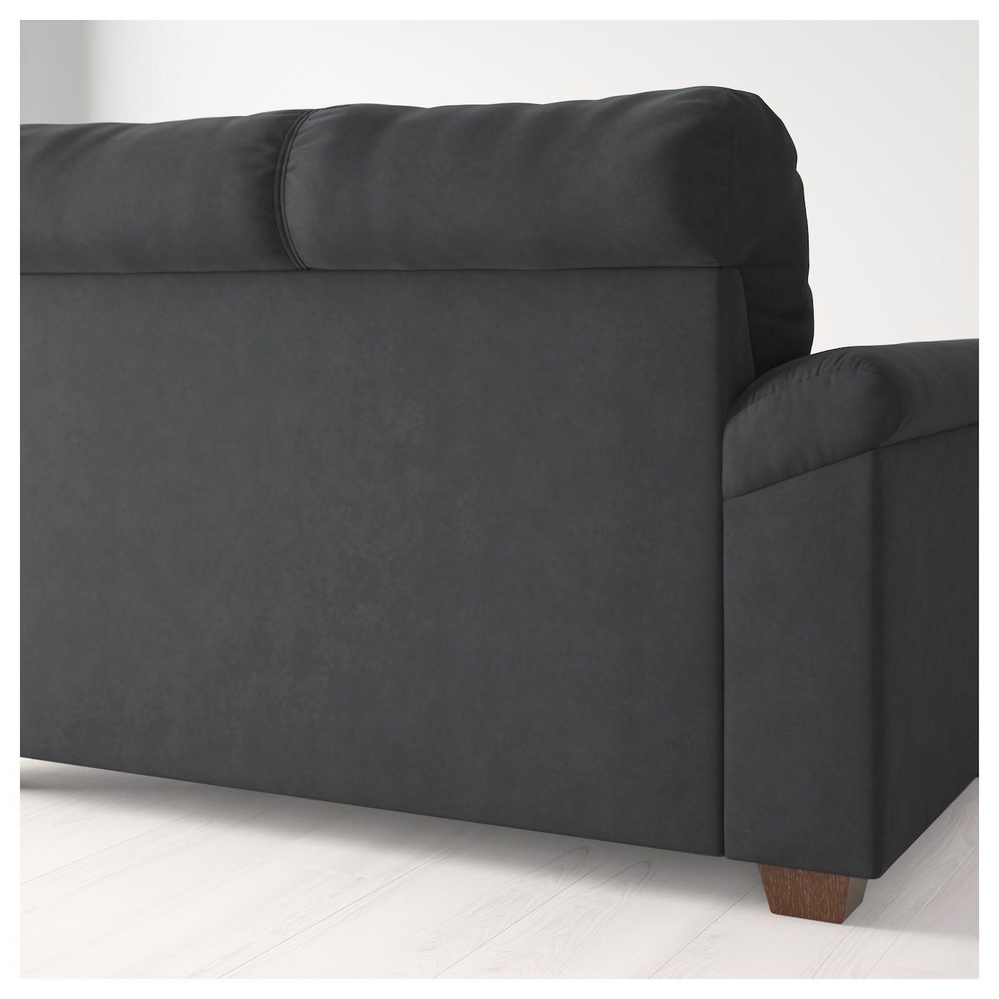 Knislinge Loveseat Samsta Dark Gray Love Seat Ikea Seat Cushions