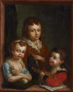 Portrait of the Artist's Grandchildren - Johann Heinrich Tischbein the Elder - The Athenaeum