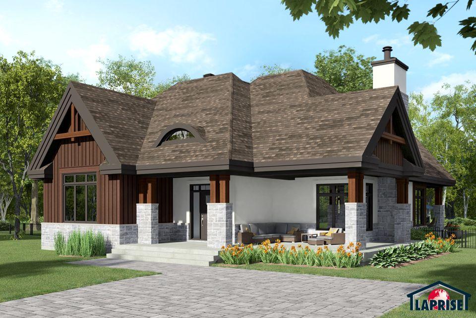 Designer zen contemporain bordure de lac chalet for Maison style contemporain