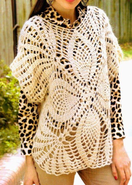 Marisabel crochet | Crochet | Pinterest | Blusas tejidas, Patrones ...