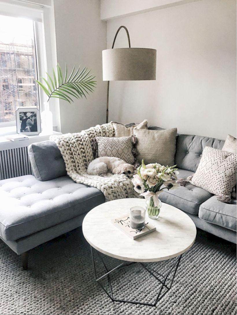 Cozy Minimalist Living Room 4 #brightlivingroom