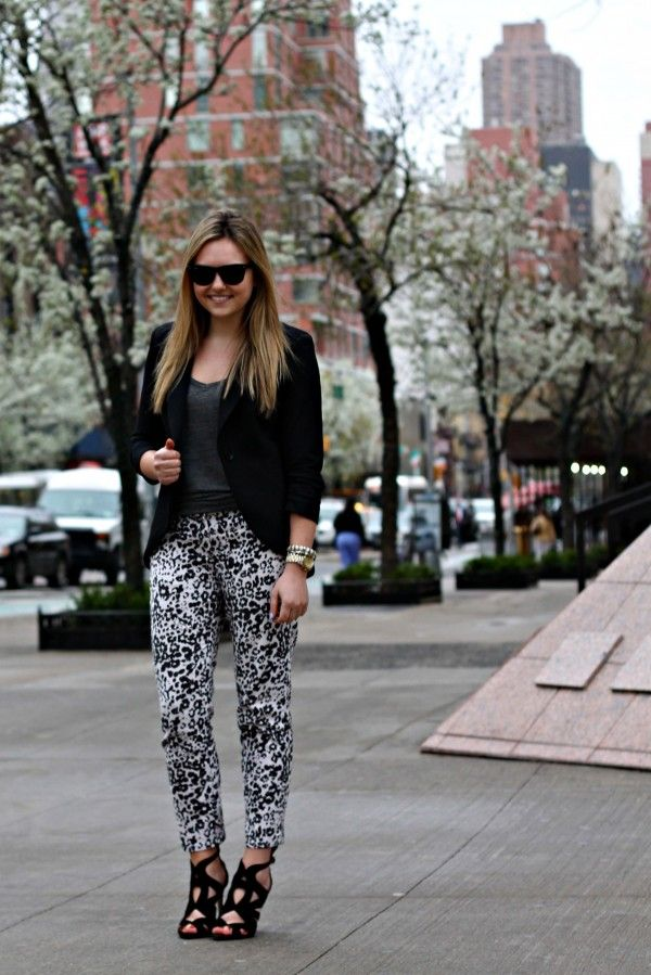 4dd818a49d0a Snooze Separates | bowsandsequins.com | Leopard pants outfit ...