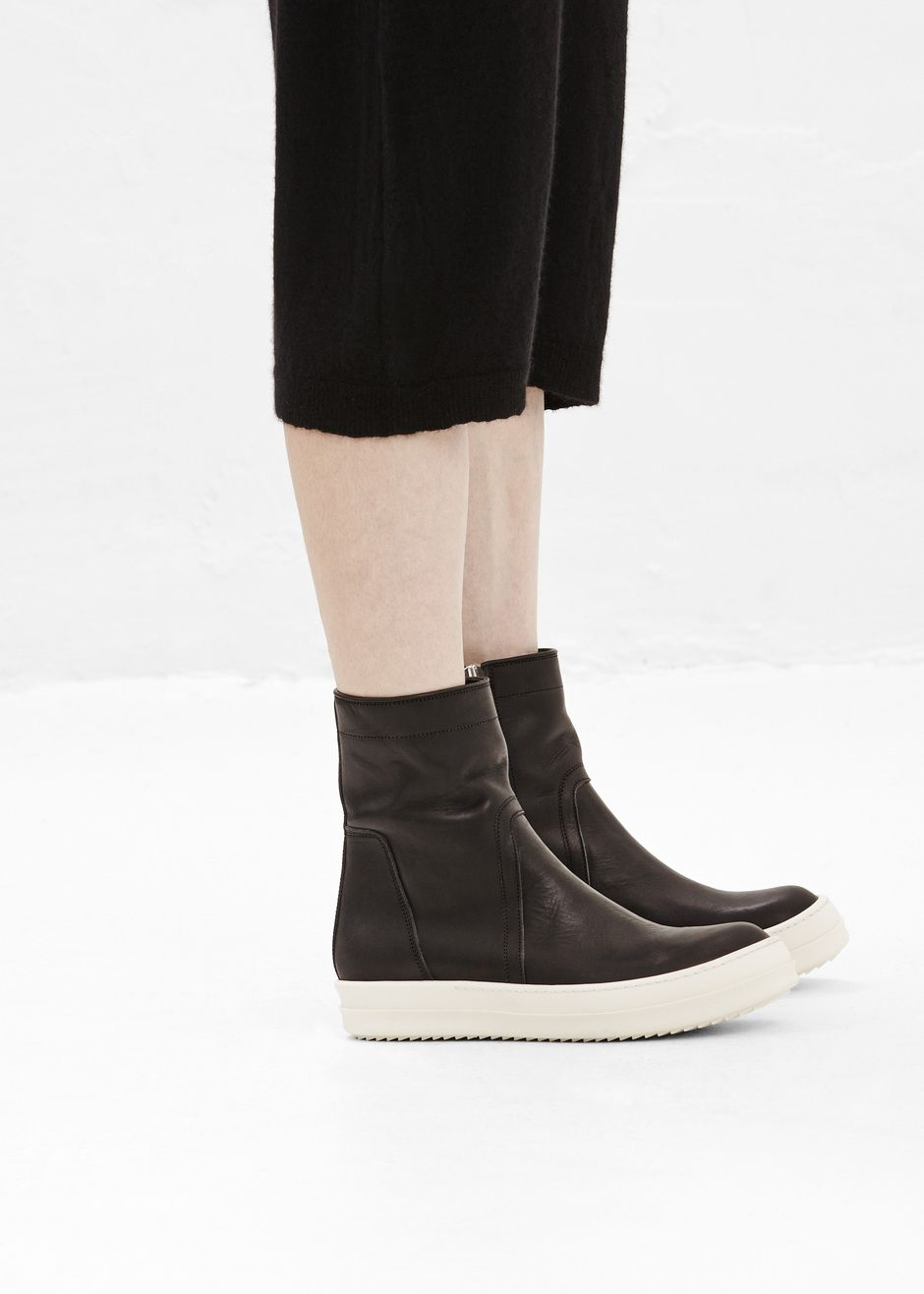 Rick OwensLeather Ankle Boots