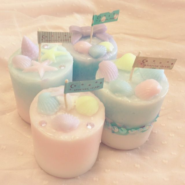 daydream candle (パステルサマーキャンドル) http://daydreamcandle.blogspot.jp/