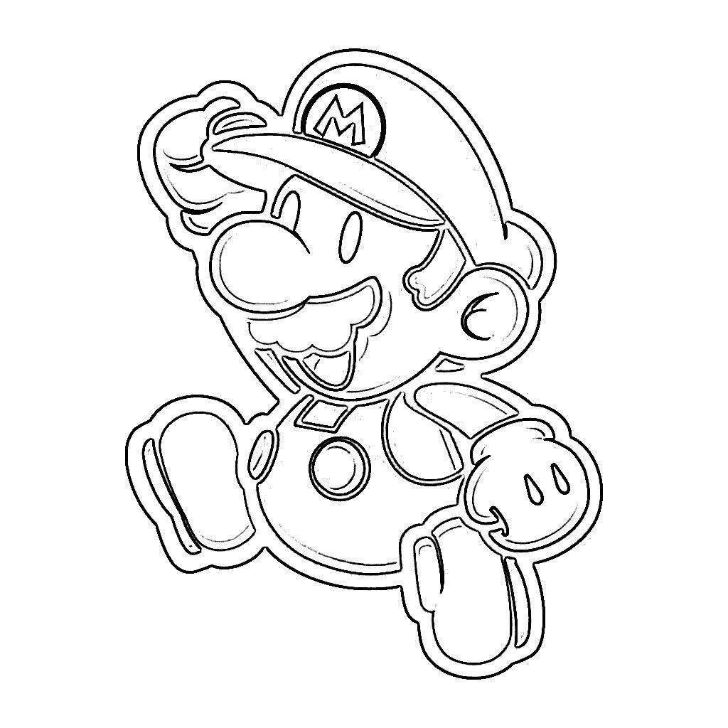 Ausmalbilder Mario Kart 8