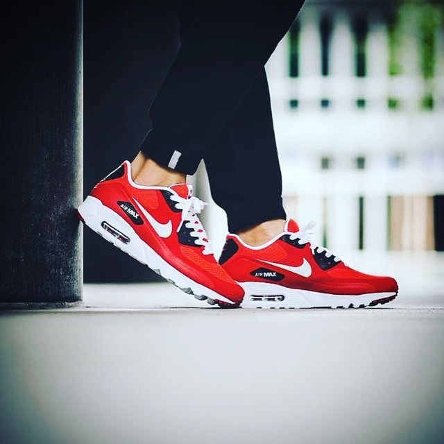 Nike Air Max 90 Ultra Essential Action Red Pure Platinum