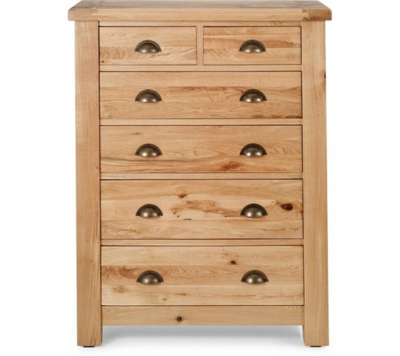 Normandy 2 + 4 Drawer Chest - Chest of Drawers/Tall Boys - Bedroom