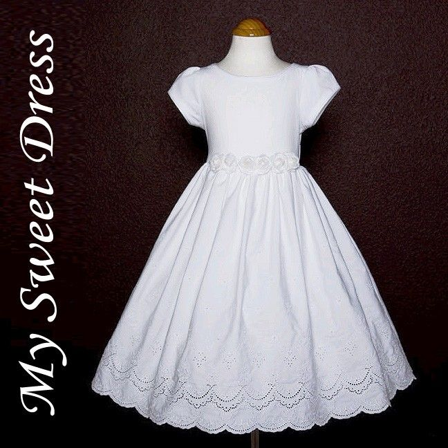Cotton First Communion Dresses
