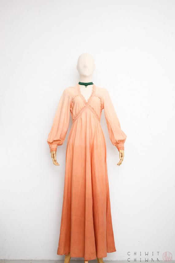 d5034edc0f 70s Indian Cotton Dress