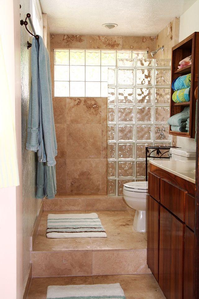 glass blocks ethan pinterest ba os. Black Bedroom Furniture Sets. Home Design Ideas
