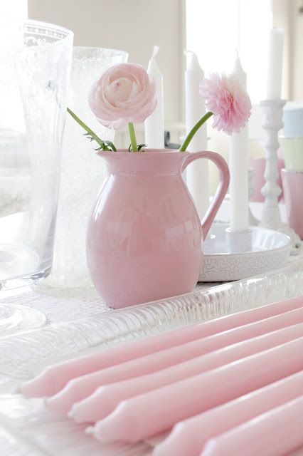 Roze kan ♡