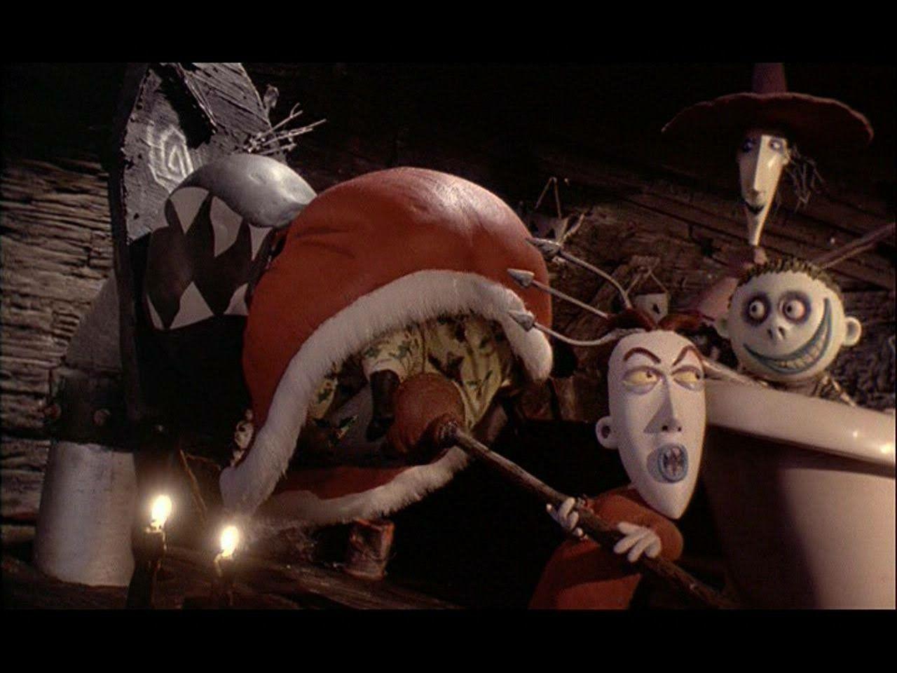 Santa stuck in chute   Sandy Claws   Pinterest   Nightmare Before ...