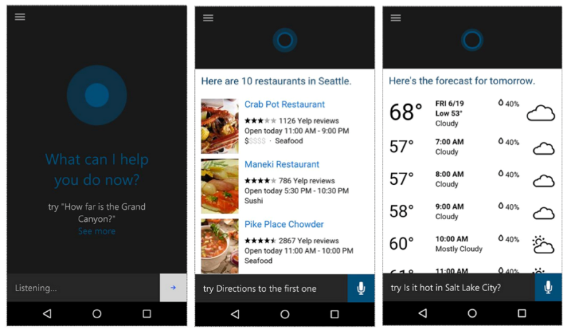 A month ago, Microsoft s virtual assistant Cortana became
