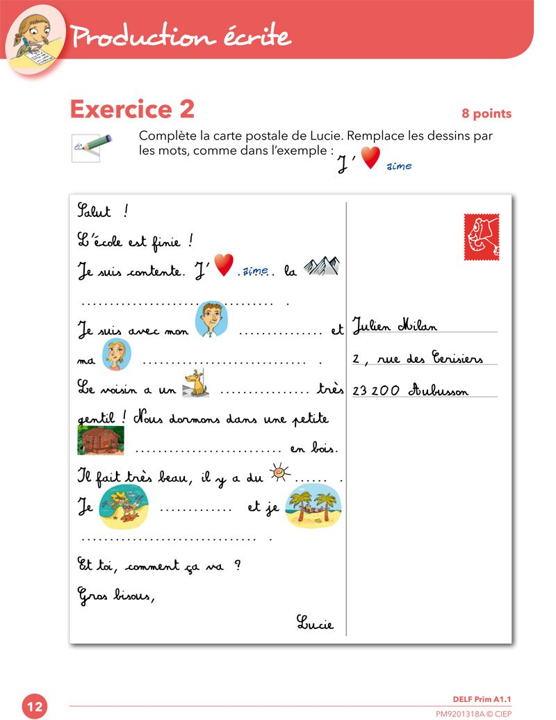 Production Ecrite Google Zoeken Learn French French Lessons French Classroom