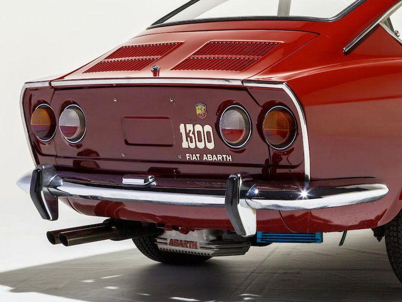 Fiat Abarth Ot 1300 124 Coupe 1966 Auto Automobile