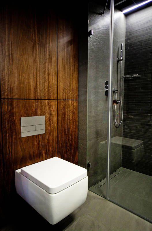 Drewno W Lazience Lazienka Styl Nowoczesny Aranzacja I Wystroj Wnetrz Beautiful Interiors House Bathtub