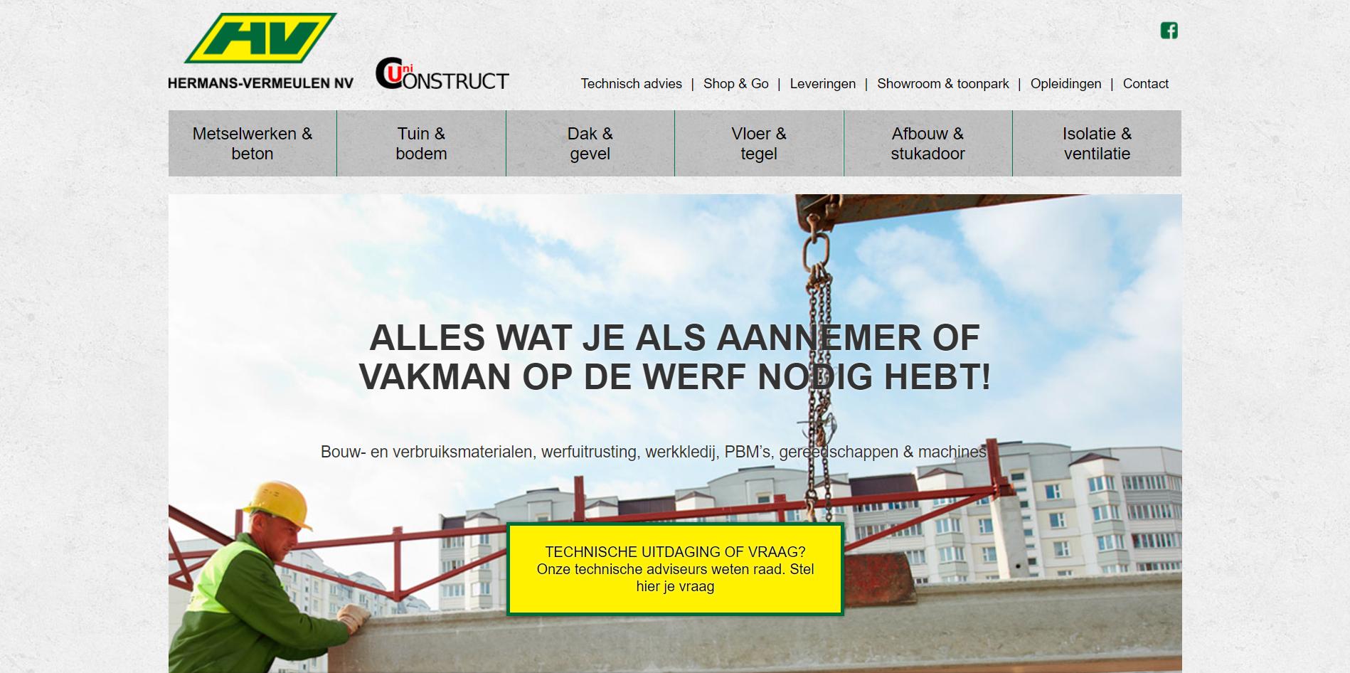 Website Hermans-Vermeulen