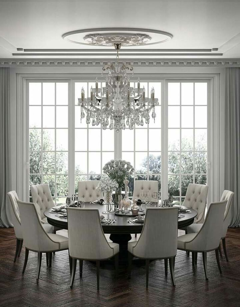 40 Inspiring Dining Room Table Design with Modern Style