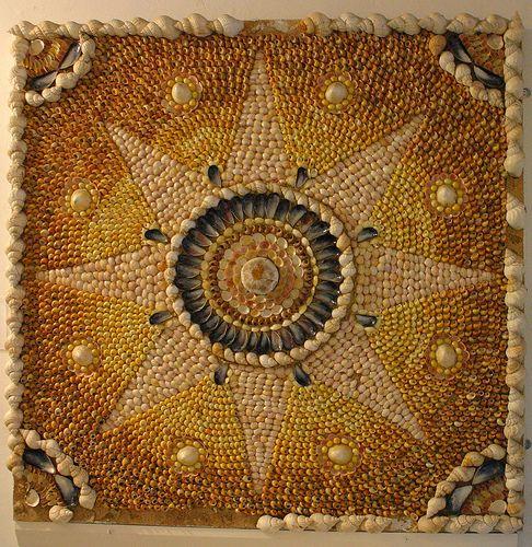 Eggshell Mosaic Art   ... Art – Mosaic Art – Shells in Art & Architecture   Mosaic Art