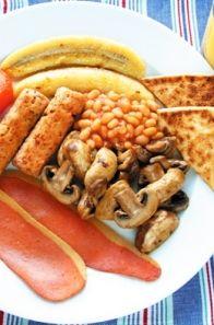 idéias de pequeno-almoço