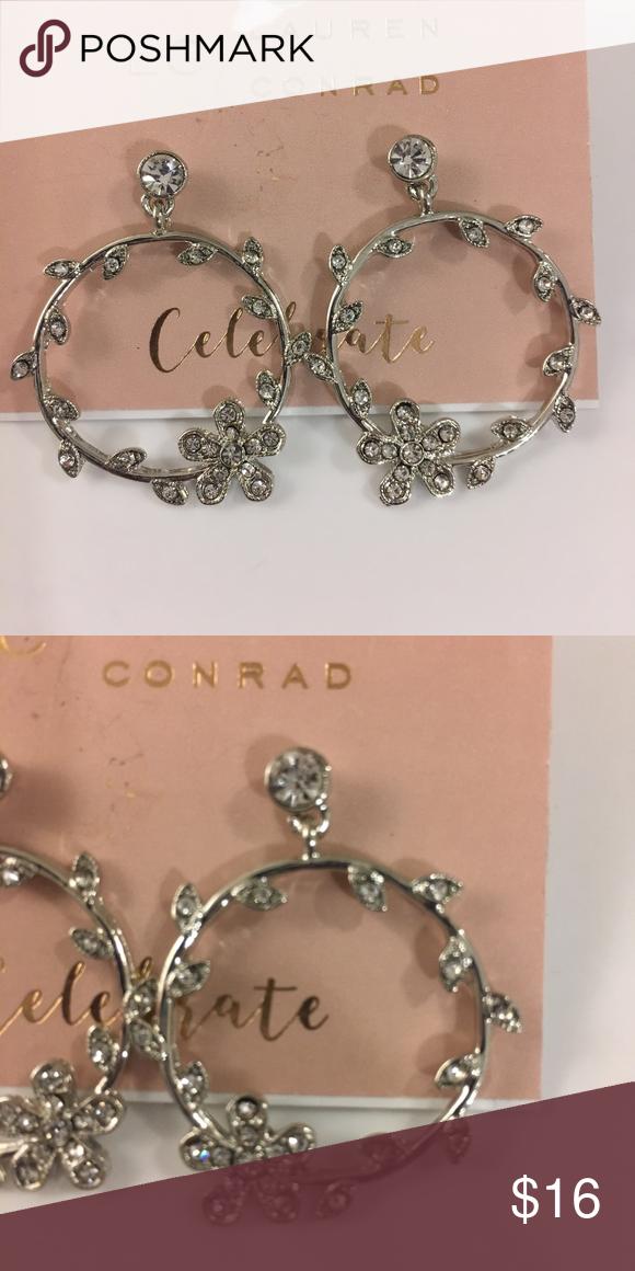 Lauren Conrad floral earrings 🌺   Lauren conrad jewelry ...