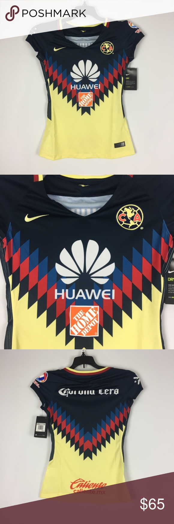 29d80fd1c82 Nike Women s Club America Home Soccer Jersey XS Please do research on  comparable prices on other