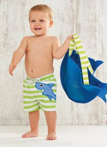 f90e25e36b Southern Tots - Mud Pie Green Shark Swim Trunks (Infant Sizes), $16.00 (