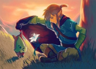 Breath Of The Wild Tumblr Breath Of The Wild Legend Of