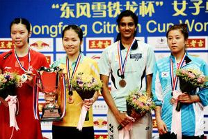 Today, India is proud of Pusarla Venkata Sindhu. She has glorified us by winning the Bronze Medal at the World Badminton Championship, held in China. She has also set an example for all the aspiring Indian women, who wants to pursue their career in sports. Bravo P.V. Sindu !!!
