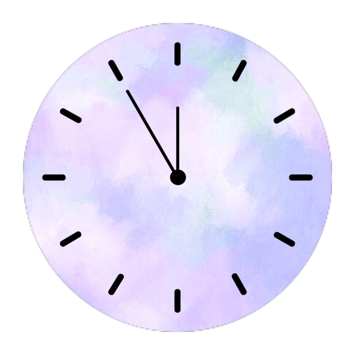 Clock Icon In 2020 Clock Icon Iphone App Design Purple Wallpaper Iphone