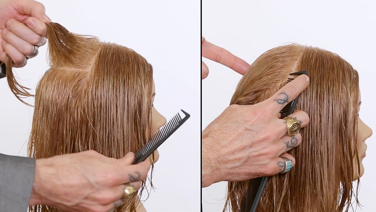 How To Section Hair With Precision And Accuracy Haircutting