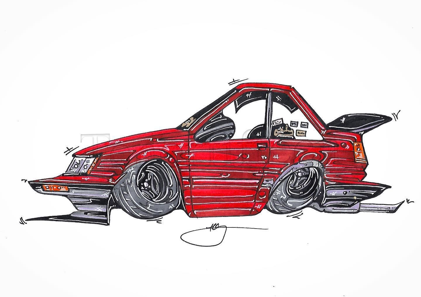 @jacobxpeck s rad #echassis #4age #ae86 #corolla #hachiroku on #advana3a s as a #drawing #cardrawing inquire for pricing and commissions hit up @deathcliqueprinting.co for some rad stickers aswell