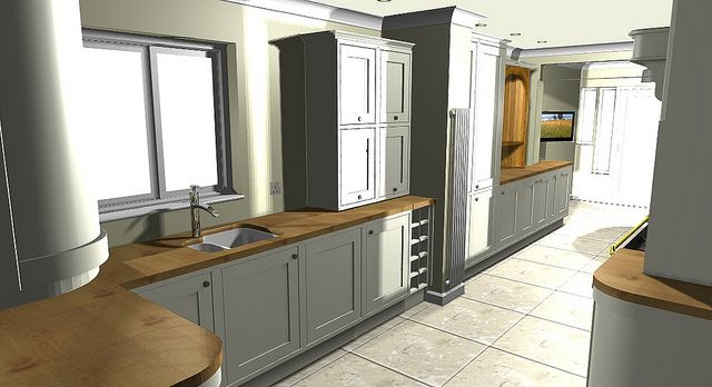 Articad Inframe Bq  Kitchen Cook Kitchens And Country Interiors Beauteous B & Q Kitchen Design Design Inspiration
