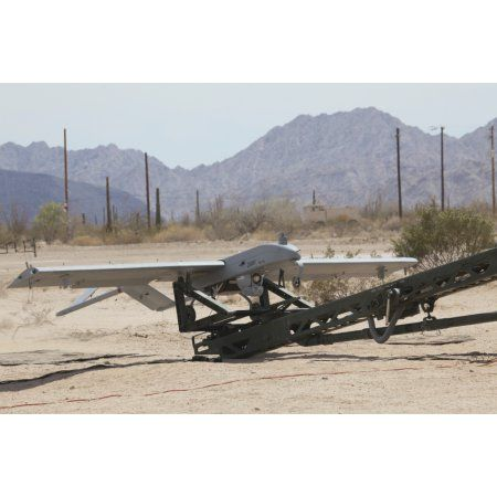 An RQ-7 Shadow unmanned aerial vehicle ready to launch Canvas Art ...