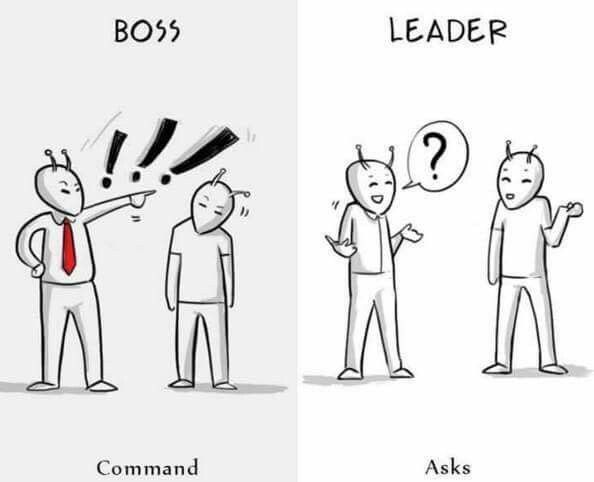 7 Differences Between A Boss And A Real Leader u0027-quotes - line leader