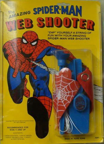 Spiderman web shooter formula