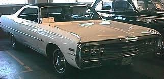 1970 Chrysler New Port Mine Was An All White 4 Door Hart Top With