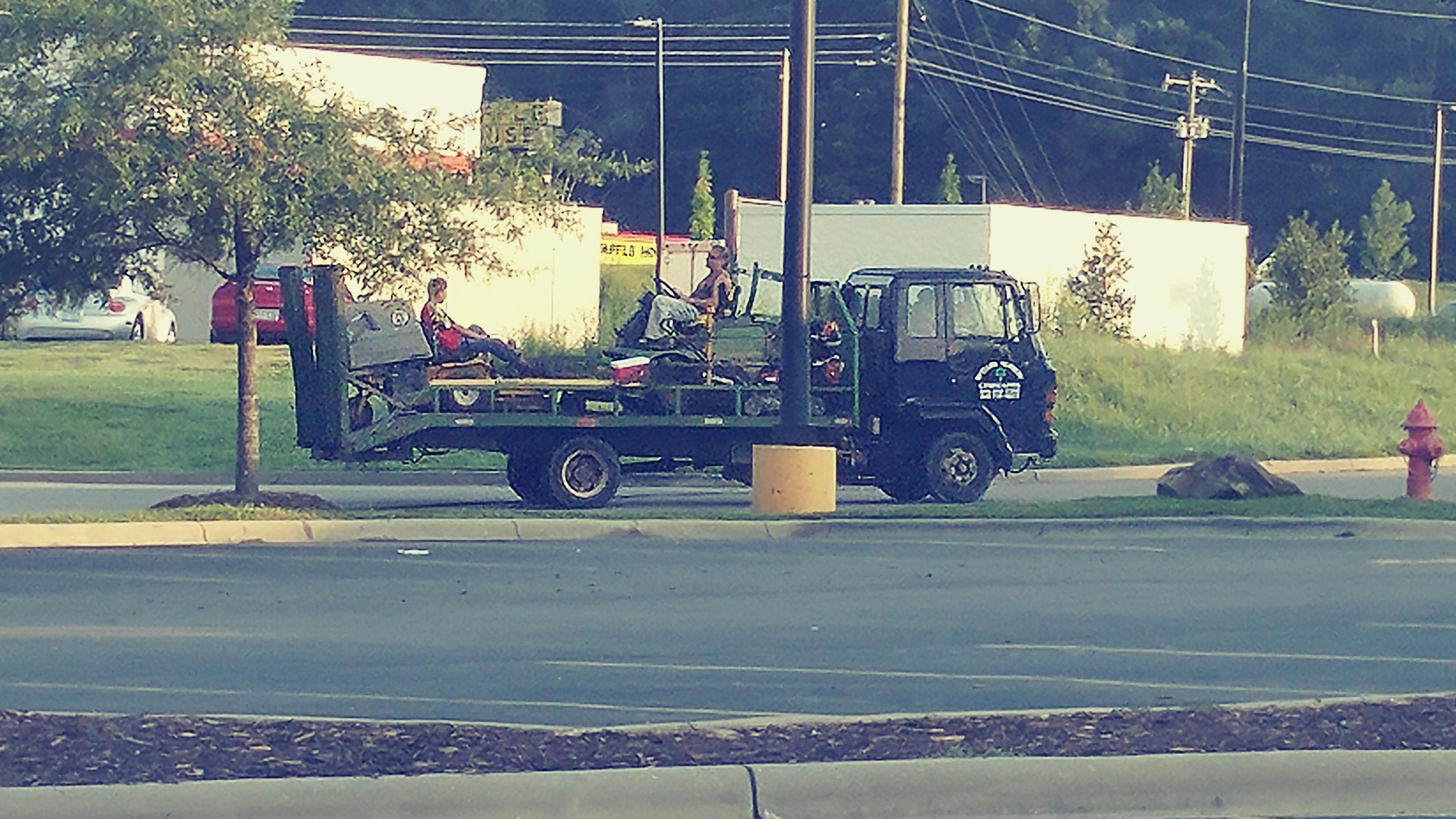 And they actually went onto the main road forklift osha